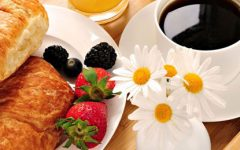 Pequeno almoço versus beleza