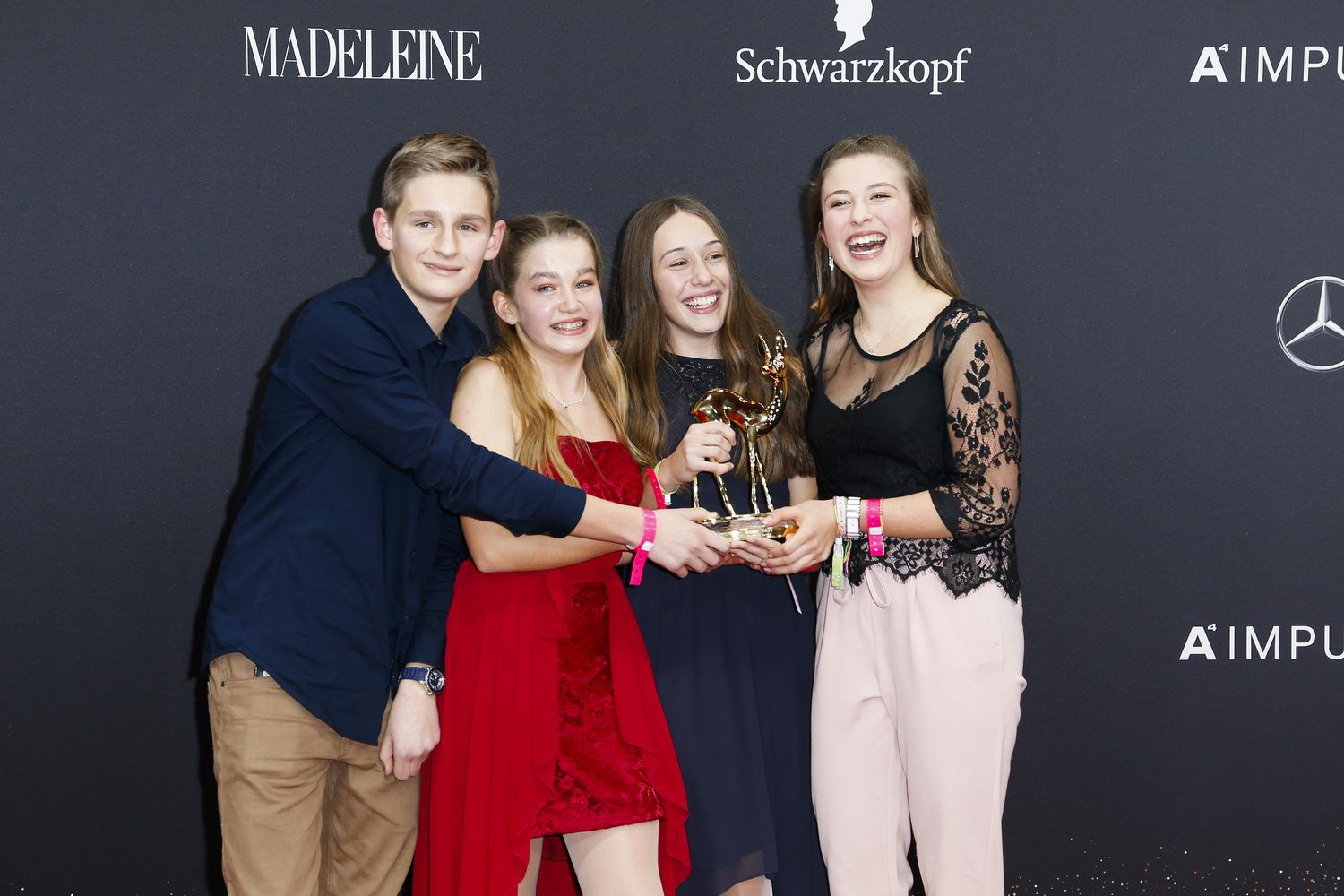 MADELEINE At Bambi Awards 2019 - Winners Board