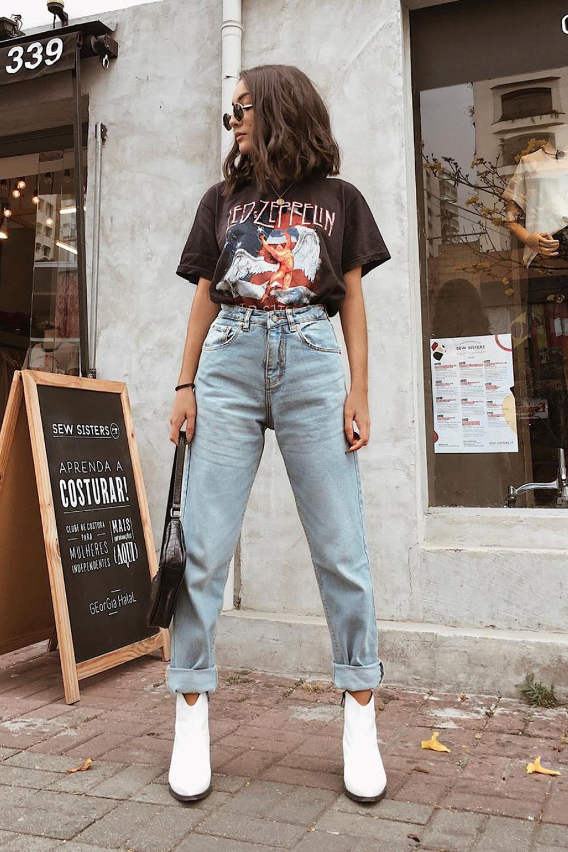 Tendência Mom Jeans – como usar e onde comprar os jeans do