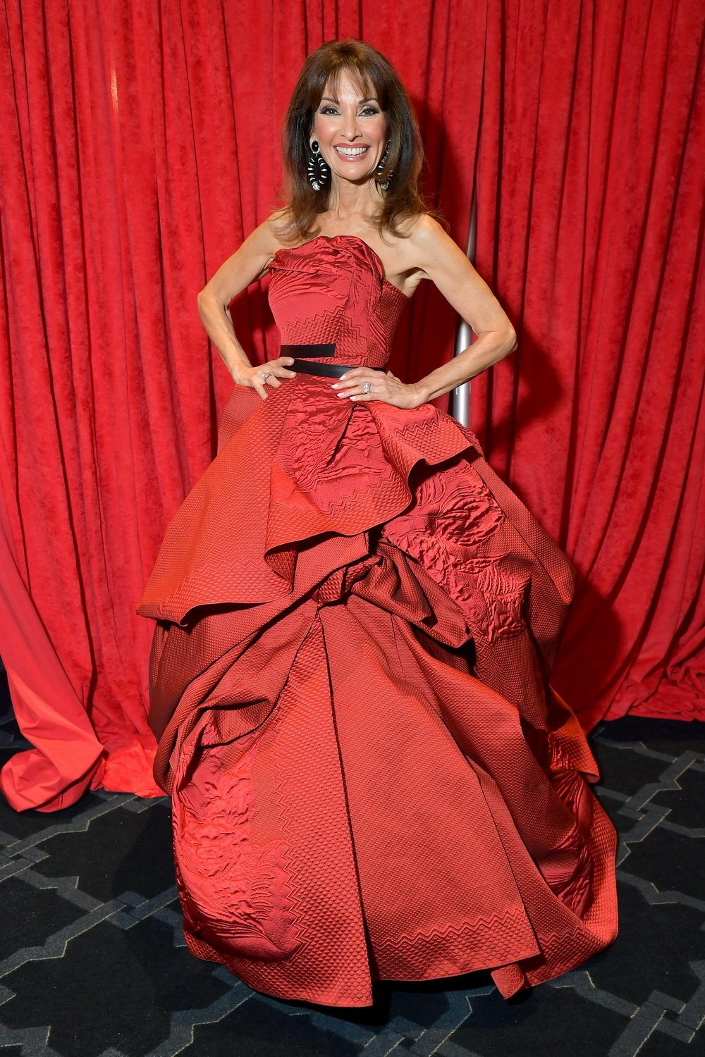 The American Heart Association's Go Red for Women Red Dress Collection 2019 - Backstage