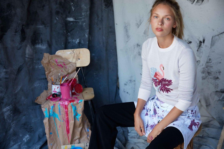 Camisola Elegant Flamingo_Michelle de Reis_resize