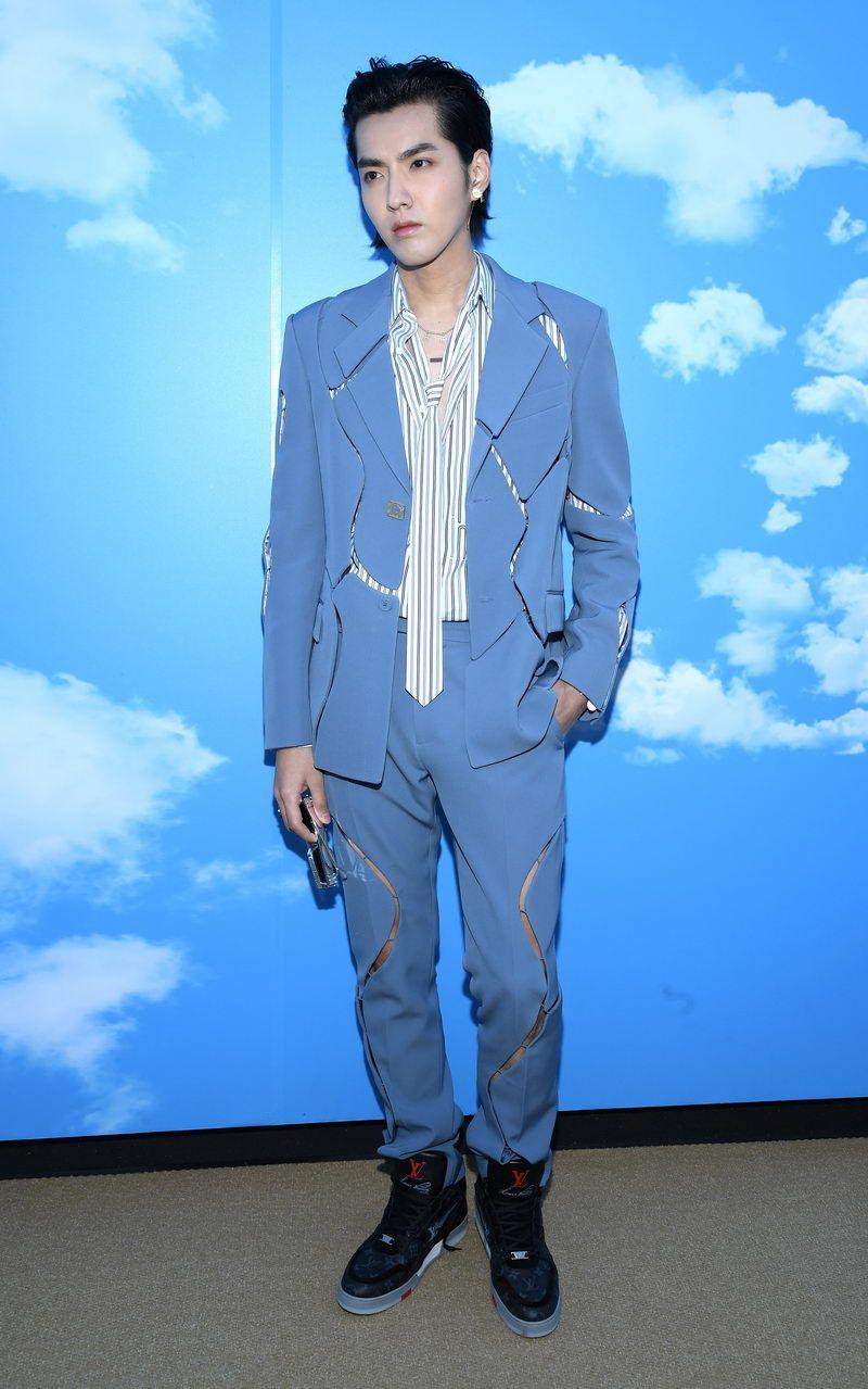 Louis Vuitton : Photocall - Paris Fashion Week - Menswear F/W 2020-2021