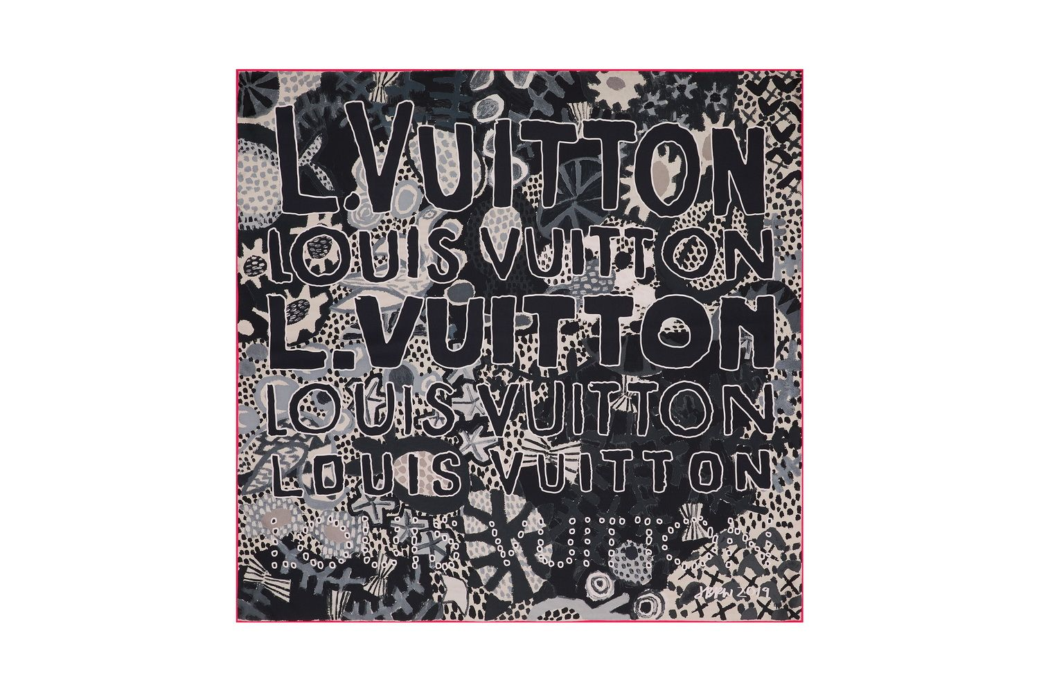 LOUIS VUITTON X JONAS WOOD GRAPHIC WOOD SQUARE 90_resize