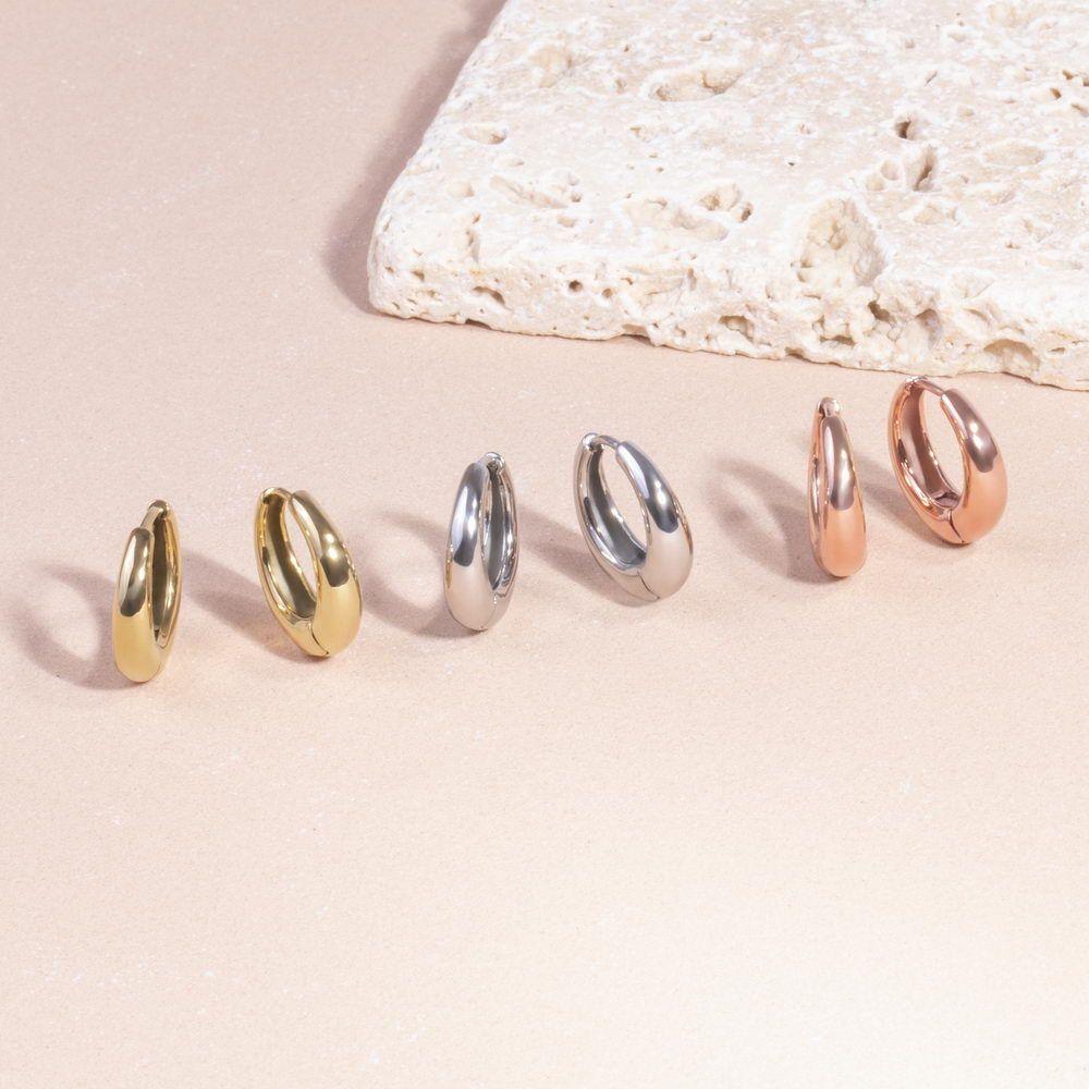 Mia Jewelry_Brincos Puffy em aço, dourado e rose gold_PVP 30€_resize