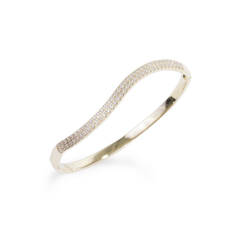 Mia Jewelry_Pulseira wave com zircónias cúbicas em aço dourado_ PVP 54€_resize