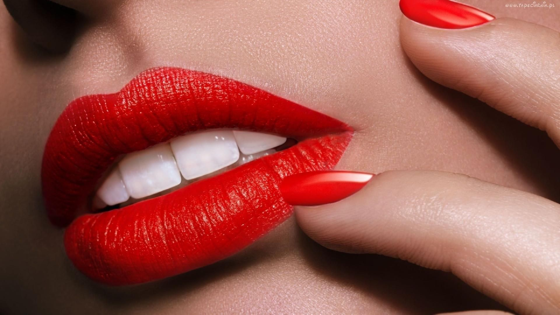 women-lips-mouth-nail-polish-red-lipstick-white-teeth-hd-wallpapers