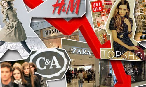 Lojas que em muitos casos se encontram nas grandes superficies e...low cost.