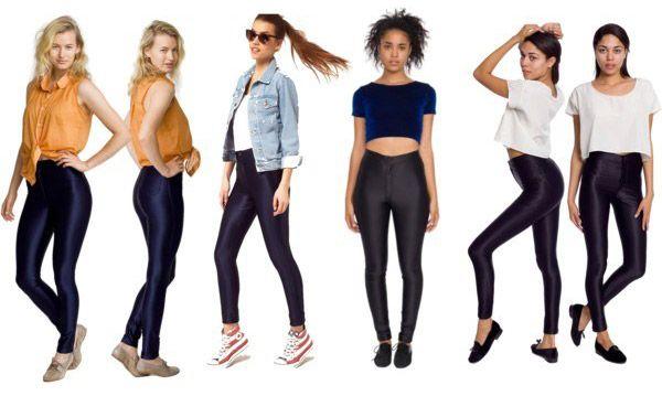 A tendência das Disco Pants