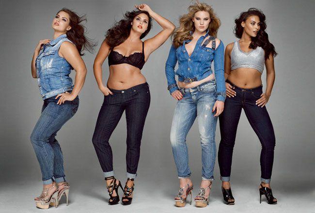 Moda para as mulheres tamanho XS