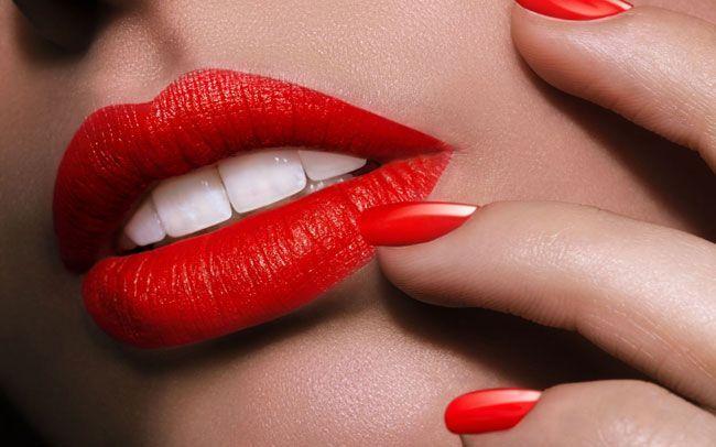 Lábios vermelhos: verdadeiro íman de atracção
