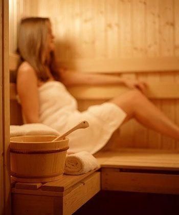 A sauna apresenta algumas contra-indicações