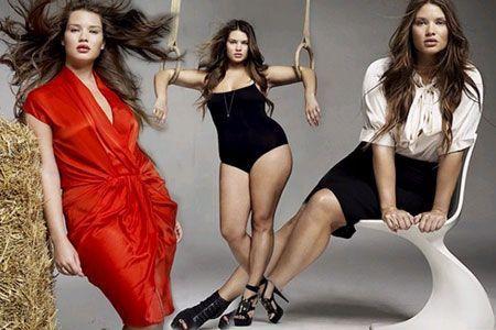 Uma mulher cujo tamanho seja XL pode-se transformar numa verdadeira diva