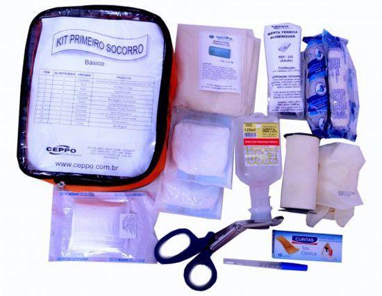 Preparar um kit de primeiros socorros