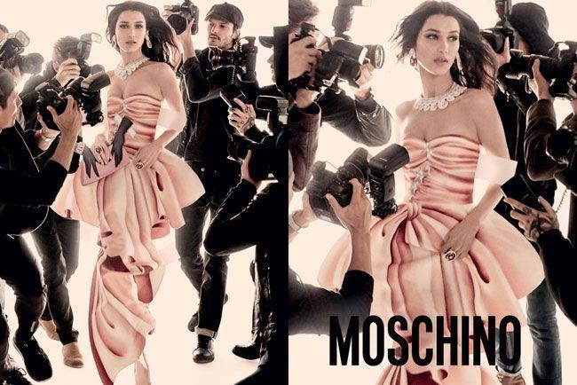 Irmãs Hadid protagonizam nova da campanha de Moschino