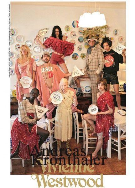 Pamela Anderson para Vivienne Westwood