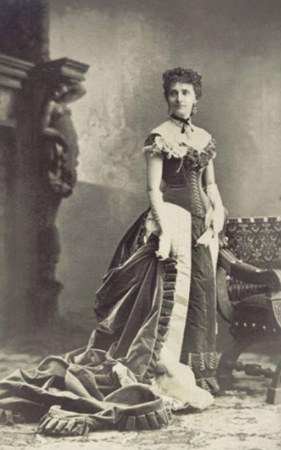 Marie Vernet, a primeira modelo que se tem conhecimento
