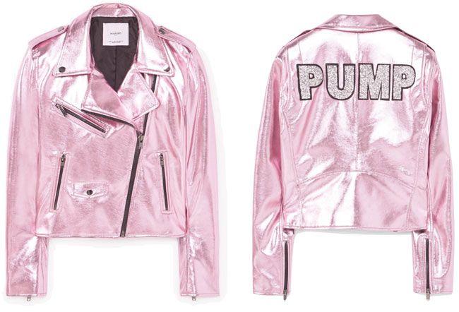 TREND ALERT: Biker jackets metalizados