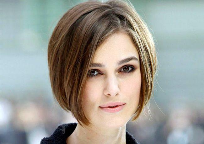 Cortes de cabelo curtos para rosto redondo