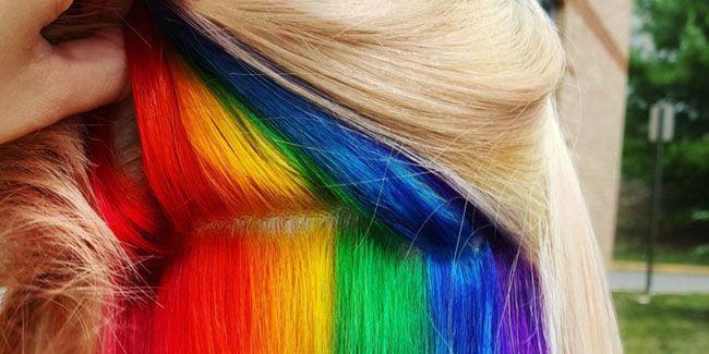 Cor do cabelo de acordo com a cor da pele