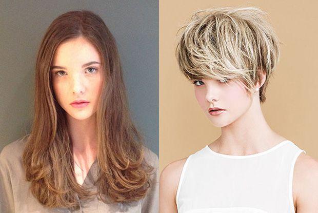 Ficas mais atraente com o cabelo curto ou comprido?