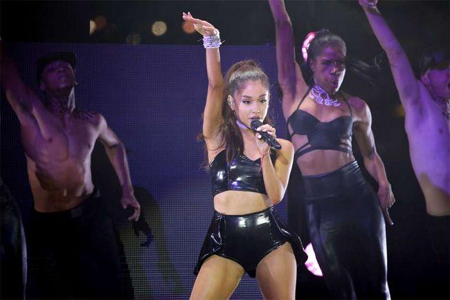 Ariana Grande está a comover o mundo