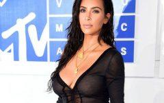 Kim Kardashian não deixa nada à imaginação