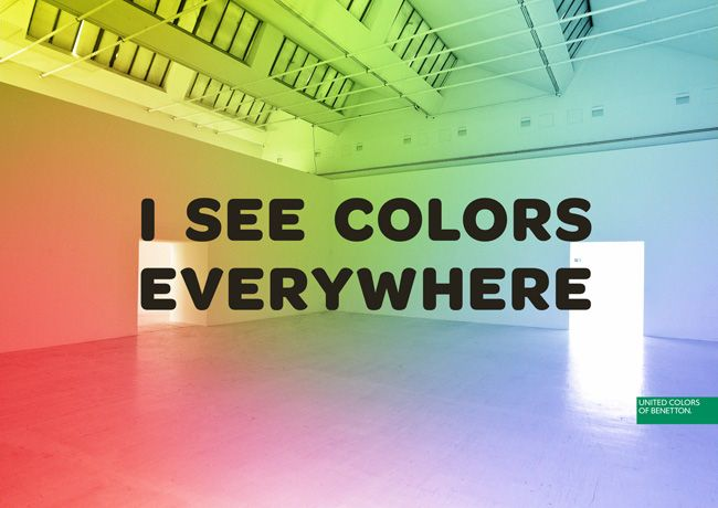 United Colors of Benetton: I See Colors Everywhere
