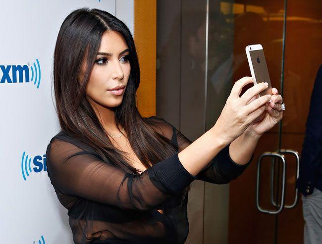 Kim Kardashian abandona as selfies (?)