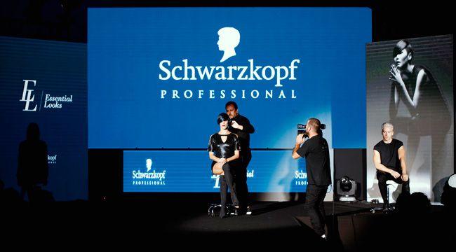 Schwarzkopf Professional deslumbra em Tróia