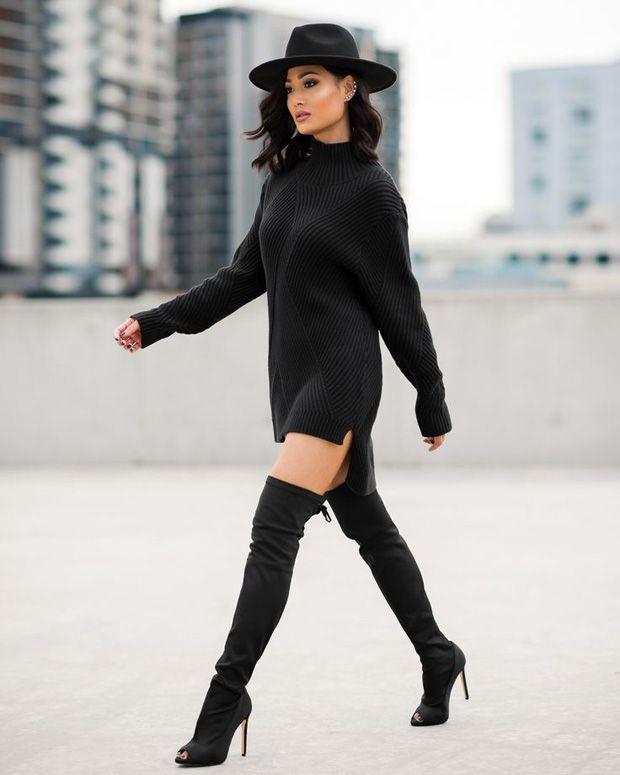 20 incríveis blusas pretas, porque nunca são demais