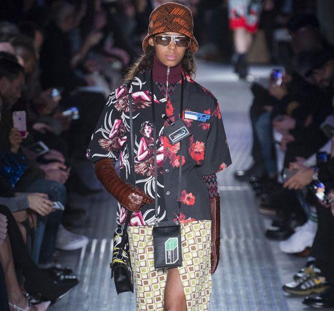 Prada destaca-se na Semana de Moda de Milão