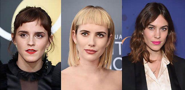 Franja, a tendência para o cabelo que arrasará em 2018