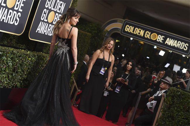 Luxo e glamour nos Globos de Ouro 2018