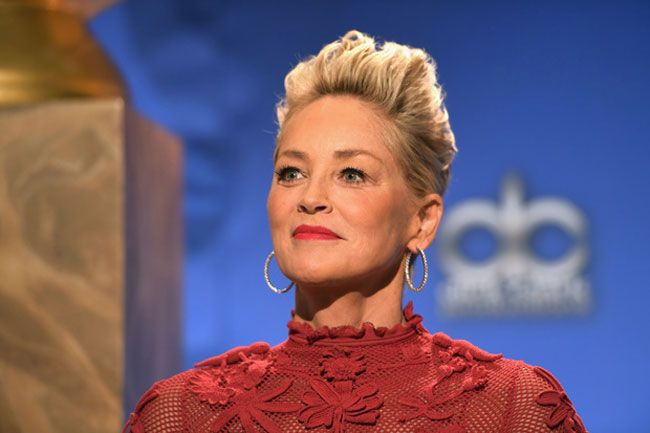 Sharon Stone ri-se sobre assédio sexual