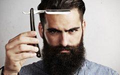 Homem - as barbas (quanto maiores) estão na moda