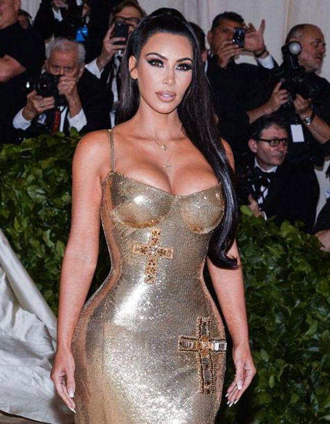 Kim Kardashian compartilha uma foto da sua infância