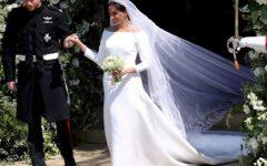 Plágio no vestido de casamento de Meghan Markle?