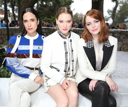"Luxo no ""front row"" do desfile Louis Vuitton Cruzeiro 2019"