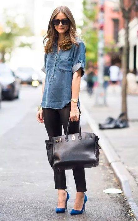 Looks de inspiração para usar com camisa jeans