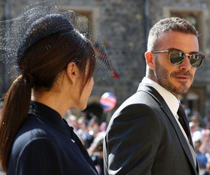 Victoria Beckham com falta de estilo na cerimónia real