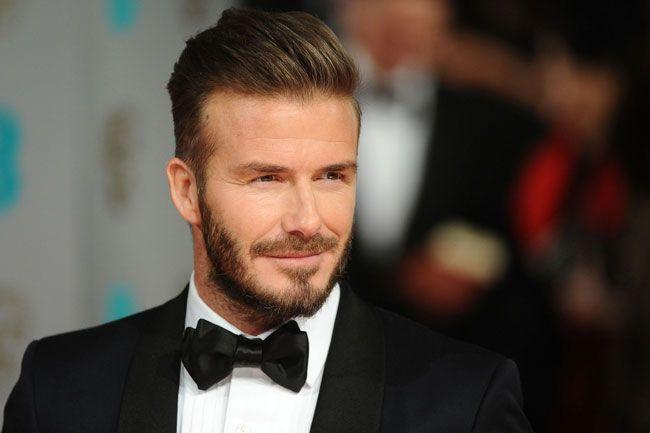 David Beckham embaixador da moda britânica