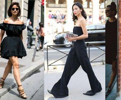 Usa roupas pretas durante a estação quente