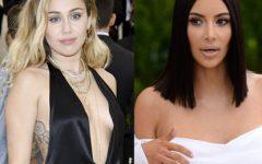 Kim...Miley... e outras celebridades que se despiram voluntariamente