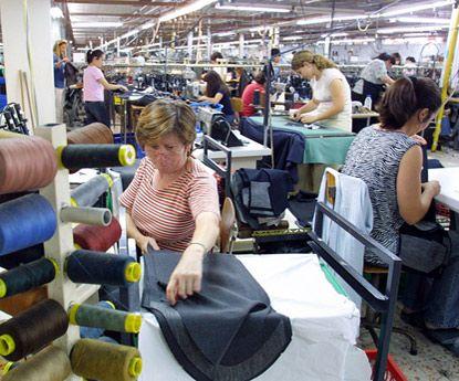 Aumentam as exportações têxteis e vestuário