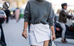As mini-saias não passam de moda