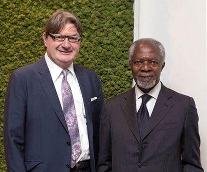 Kofi Annan junta-se ao comité de ética da Geox