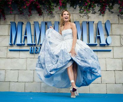 Estreia em Londres Mamma Mia! Here We Go Again