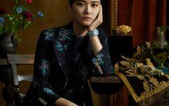 Chris Lee em destaque para Gucci Timepieces & Jewelry