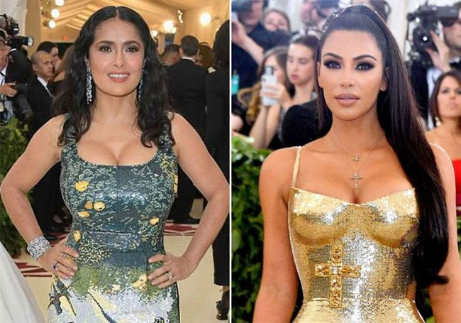 Kim Kardashian faz surpreendente confissão sobre Salma Hayek