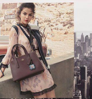 Terceira campanha de Selena Gomez para Coach está aqui